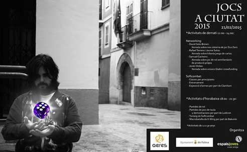 Jocs a Ciutat 2015 cartel