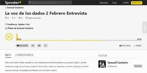 Podcast La Voz de los Dados