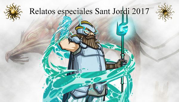 Relatos Sant Jordi 2017, de Eduín Peris y Javier Ordax
