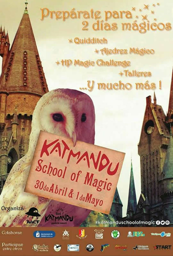 La AACF y Katmandu Park celebran el Harry Potter School of Magic