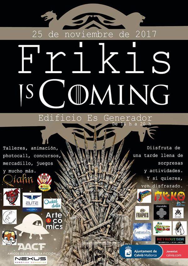 Qíahn en Frikis is coming 2017