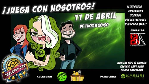 TableTop Day 3ª Edición