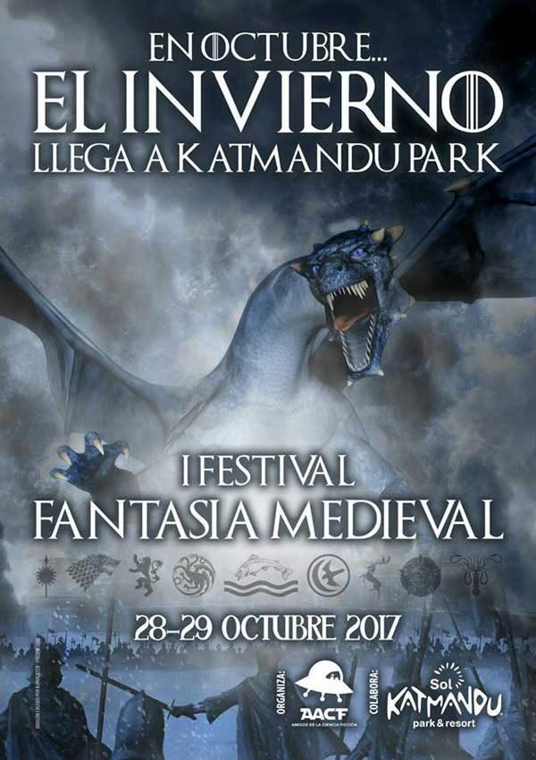 Qíahn en AACF Katmandu: Fantasía Medieval I