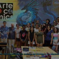 Qíahn y Arte & Cómics colaboran
