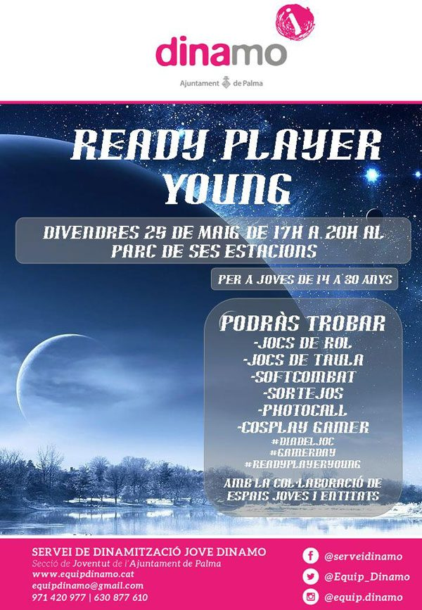 Qíahn en el Ready Player Young 2018