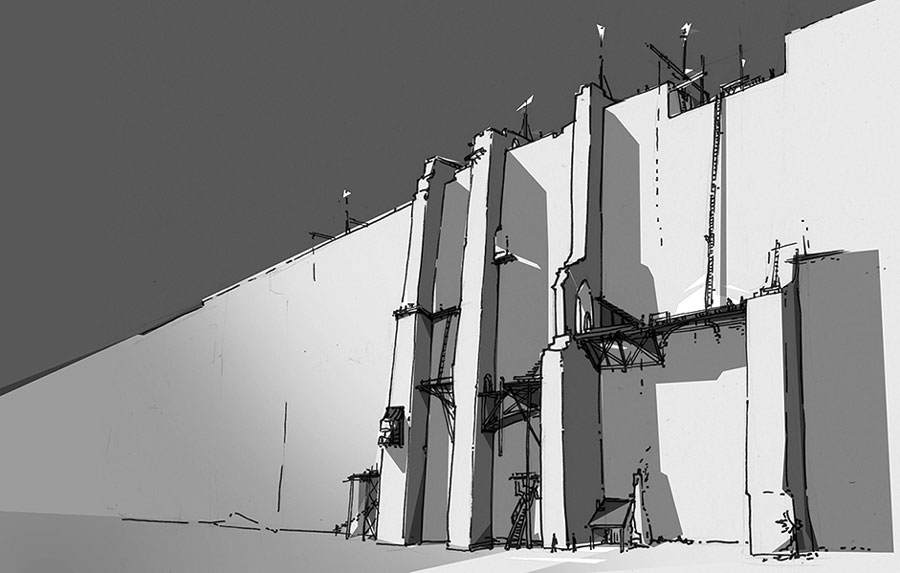 El Fuerte de Cruz, Qíahn