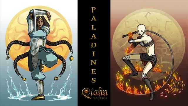 Paladines de Qíahn Tactics