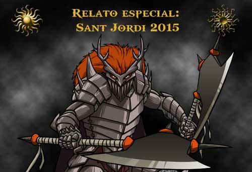 Relato especial: Sant Jordi 2015