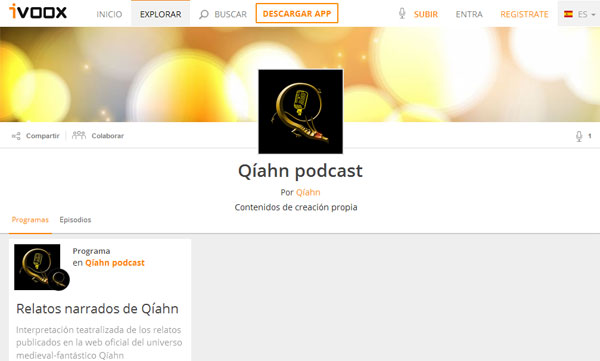 Podcast de Qíahn