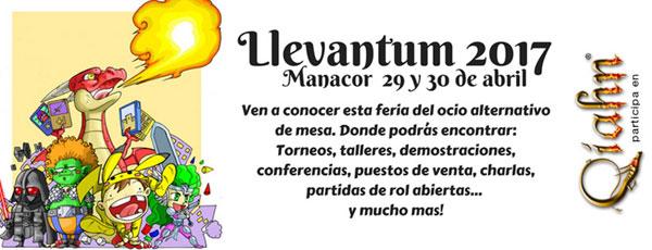 Llevantum 2017, 3ª edición de este fin de semana lúdico en Manacor