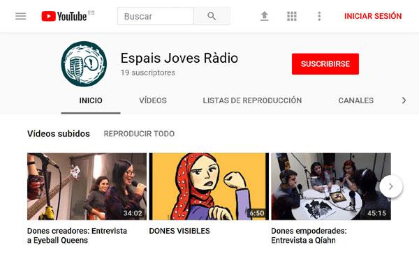 Qíahn en Espais Joves Radio